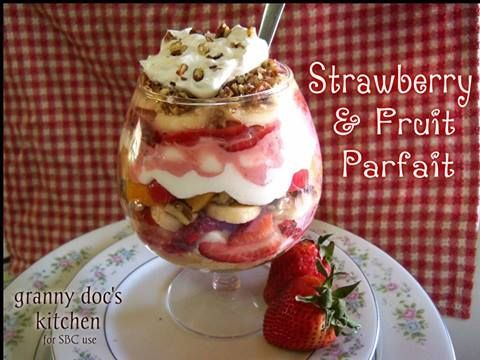 Strawberry and fruit parfait  ✯★✯★✯★✯★✯★✯★  ☆My profile: https://www.facebook.com/heather.rasch.9  ☆Join: https://www.facebook.com/groups/onthehealthyside/  ☆Try Skinny Fiber: www.HeatherRasch.SBC90.com  ✯★✯★✯★✯★✯★✯★