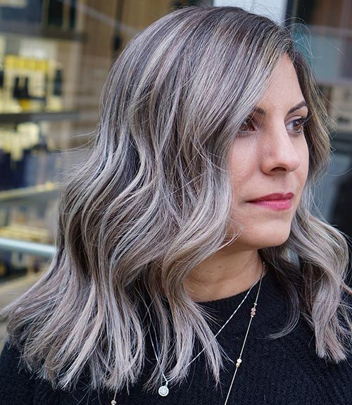 30 Stunning Gray Color Hairstyles For All Ages In 2020 Best Home Hair Dye How To Dye Hair At Home Silver Blonde Hair