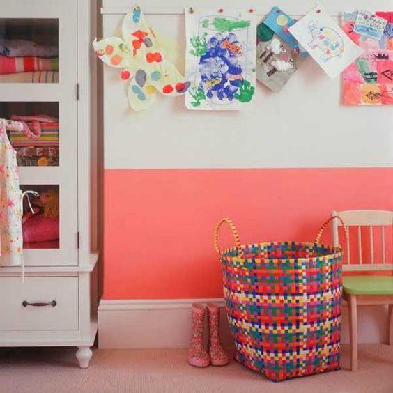 20 Fotos para pintar una habitación infantil - Mil Ideas de Decoración  #decoración #niños