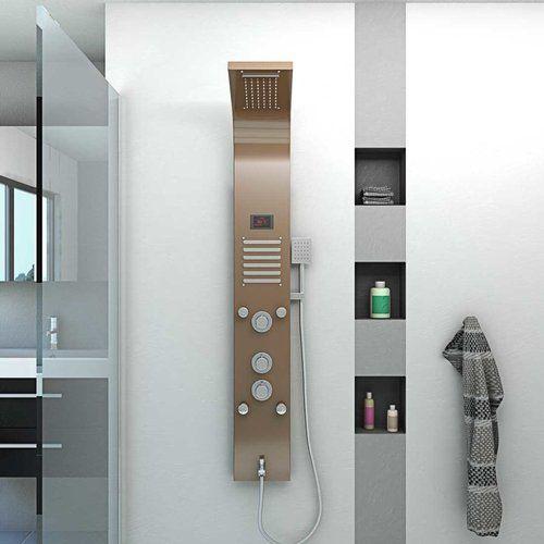 Duschpaneel Aus Edelstahl Duschsaule Duscharmatur Thermostat Farbe