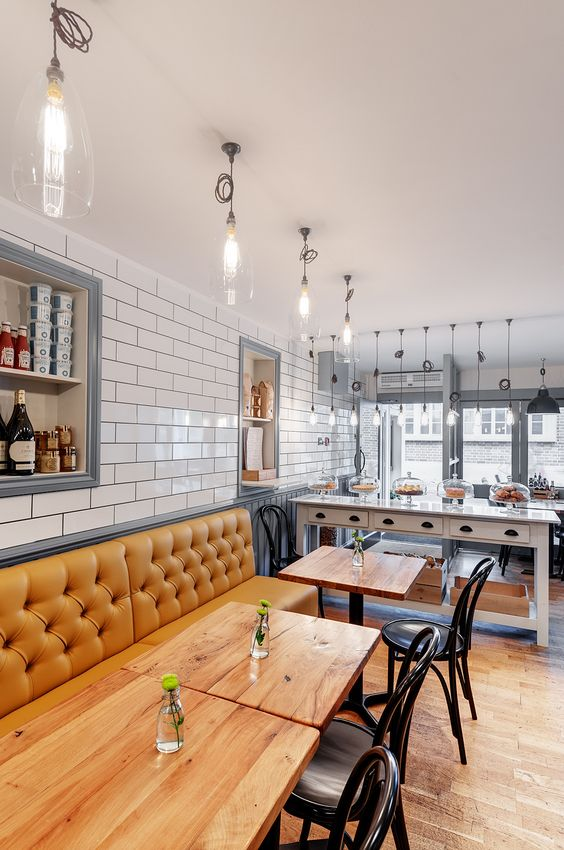 Restaurant Kitchen Wall Tile restaurant cafe interior design | cafe design | pinterest