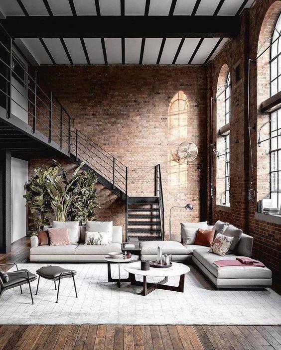 Unique Industrial Living Room Ideas You Have To Consider Loft Interior Design Italian Interior Design Interior Design Inspiration