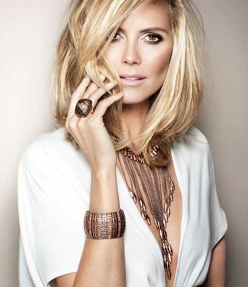 Terrific Heidi Klum Hairstyles 2015 Short And 2015 Short Hairstyles On Hairstyles For Women Draintrainus