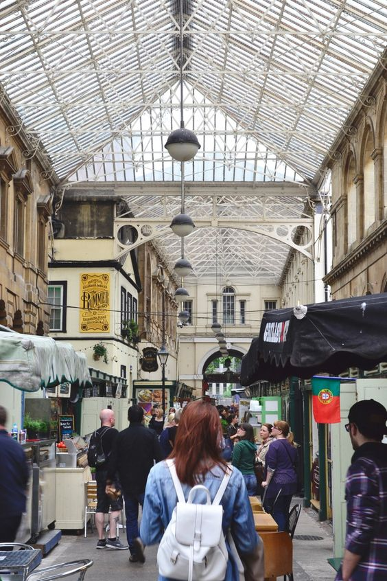 St Nicholas Market in Bristol, been in operation since the 1700s and sits at the heart of the old part of the city. Read more about Bristol, this market, and what to see and do on a quick trip!