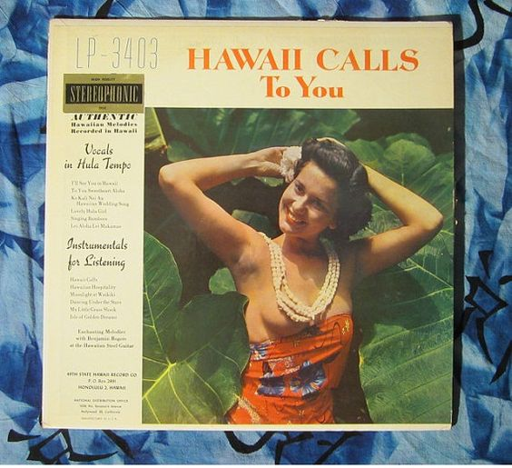 Genowa Keawe and Her Hawaiians Present Hawaii Calls to You (1960s, Easy Listening  LP Vinyl Record)$32