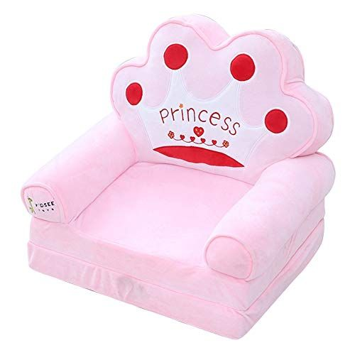 Trycooling Soft Plush Children Sofa Backrest Chair Foldable Infant Baby Seat For Living Room Bedroom Pink Kidss In 2020 Childrens Sofa Bed Kids Sofa Kids Sofa Chair