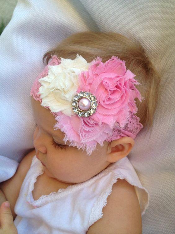 Diadema de roseta de flor de rosa diadema - 3