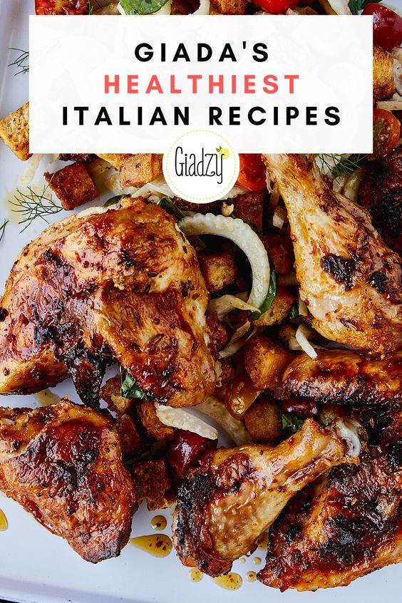 Giada's Healthiest Italian Recipes