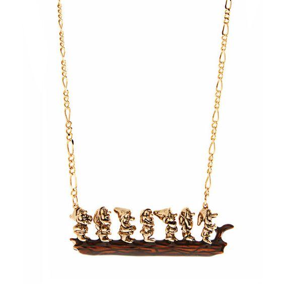 Disney Couture 7 Dwarves Necklace:
