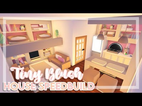 Tiny Blush House Speedbuild Adopt Me Adopt Me Speedbuild Youtube Cute Room Ideas My Home Design Home Roblox
