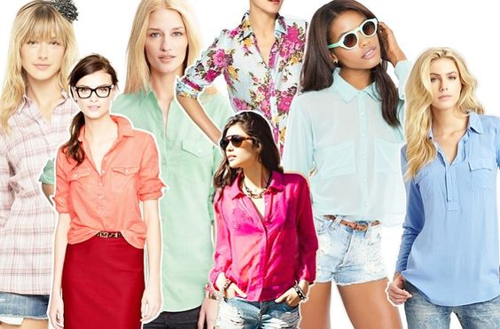 Button-downs continue to be a major must-have no matter what your personal style may be.