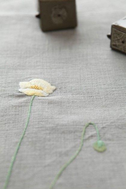 야생화 자수 우리 꽃을 곁에 두다 PART 1 - 9 [2012 / 팜파스]