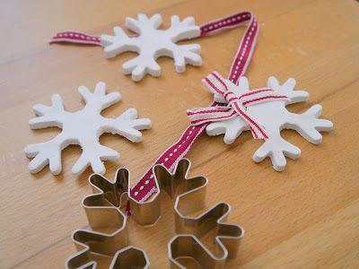 Kreacaro: 18.Türchen Schneeflocken aus Fimo