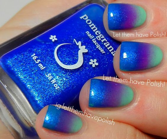 Let them have Polish!: Gettin' Groovy with Pomegranate Lacquers