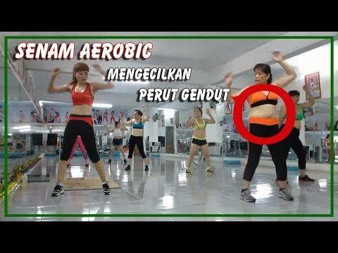 Senam Aerobic Cara Cepat Mengecilkan Perut Gendut Dan Buncit Youtube Mengecilkan Perut Buncit Senam