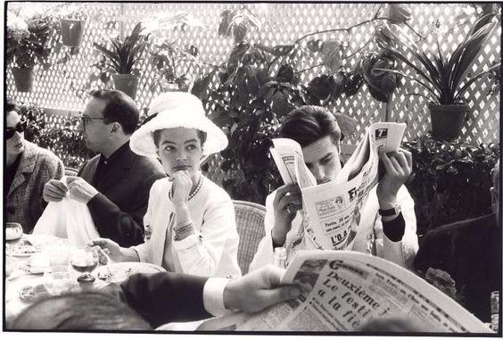 Cannes, 1963 Romy Schneider et Alain Delon: Romy Schneider, 1963 Romy, Vintage Photographs, Alain Delon, Art Of Photography
