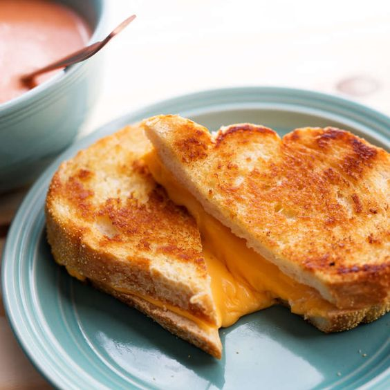 Grilled Cheese for the Win!. Chef secrets, plus the perfect pairing: tomato soup