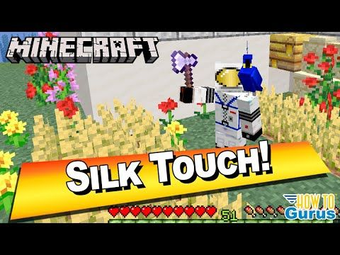 How To Move A Bee Nest With Silk Touch How To Enchant An Axe Minecraft Java Edition 1 15 1 16 Youtube Silk Touch Minecraft Minecraft Projects