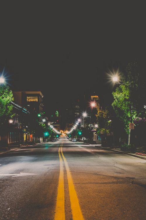 - night time walks -