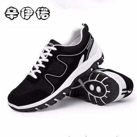 New Spring Autumn Mens Low Top Lace Up Sports Athletic Shoes Running Casual Plus