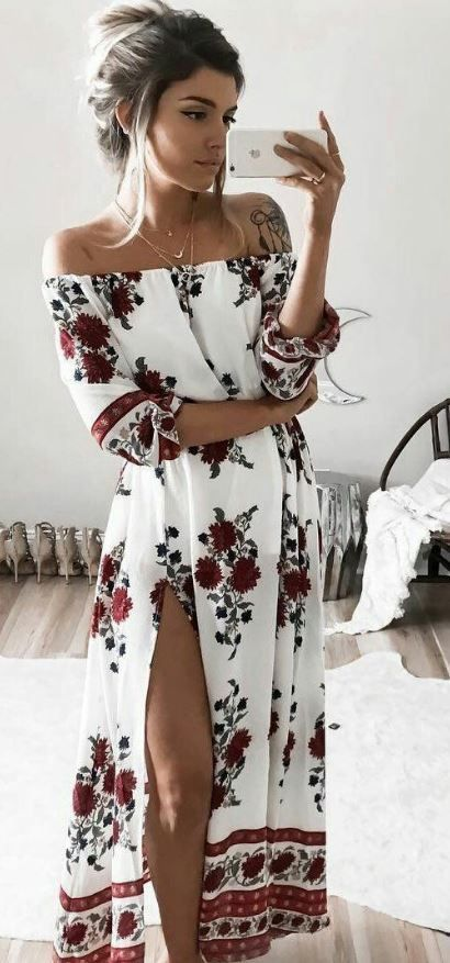 Flawless Floral Outfits