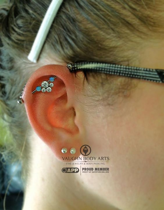 how to take out an industrial piercing