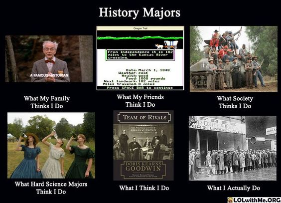 What can I do with History?