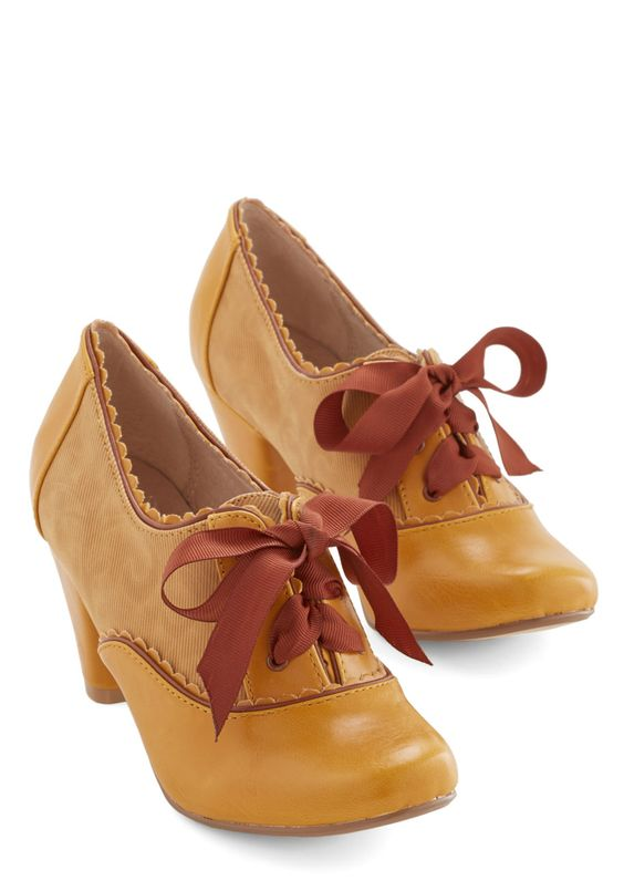 Party All the Timeless Heel in Mustard