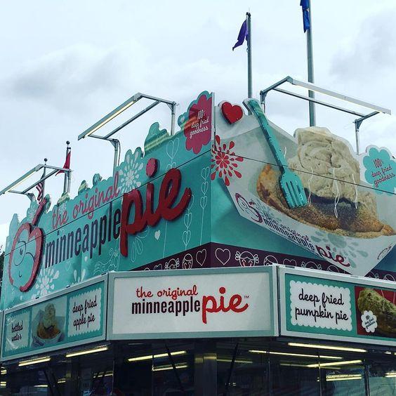 MN State Fair goals = fried apple pies