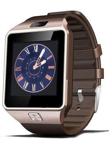 Fashion DZ09 Wearables Smart Watch ,Hands-Free Calls/2.0MP Camera/ Bluetooth Mate / Remote Camera for Android&iOS , gold. Type:Smart Watch,. Service Provide:Unlocked,. 2G:GSM(850/900/1800/1900MHz),. Operating System:Android,. Languages:Spanish, Russian, Pilipino, Polish, Portuguese, Japanese, English, Traditional Chinese, Simplified Chinese, Thai, Chinese, Arabic, Vietnamese, Malay, Danish, Greek, Nepali, Turkish, Swedish, Norwegian, Italian, German, Romanian, Korean,.