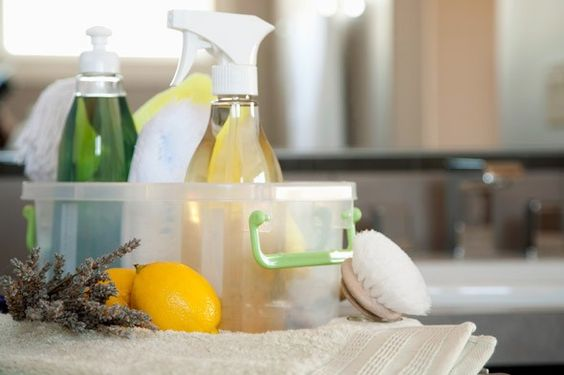 DIY natural household cleaners.