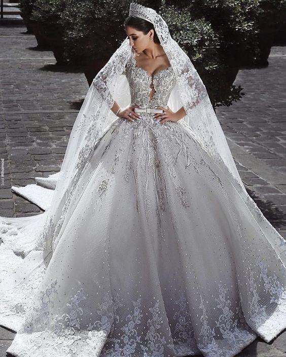 robes de mariée style princesse   Robe de