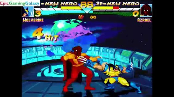 Azrael VS Wolverine The Member Of The X-Men In A DC VS Marvel MUGEN Edition Match / Battle / Fight This video showcases Gameplay of Azrael VS Wolverine The Member Of The X-Men In A DC VS Marvel MUGEN Edition Match / Battle / Fight