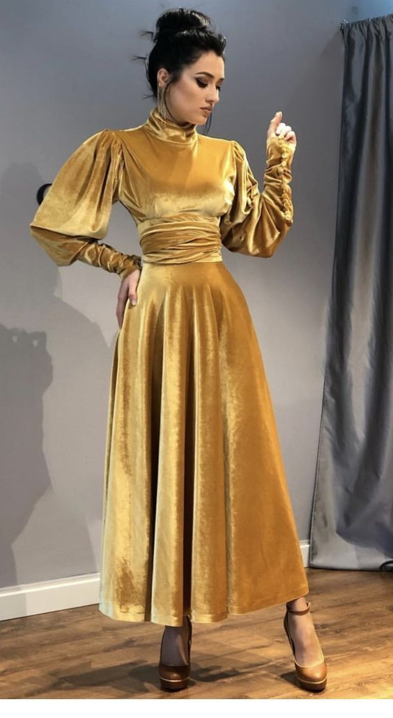 Velvet Dress Designs Fashion Dresses