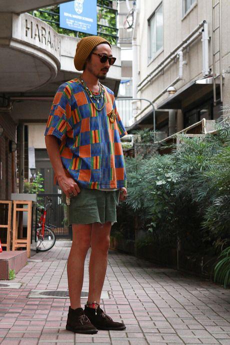 ストリートスナップ [obi] | Clarks, obilennon, used | 原宿 | 2012年07月23日 | Fashionsnap.com