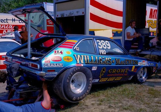Vintage Drag Racing Pro Stock Ford Pinto Williams