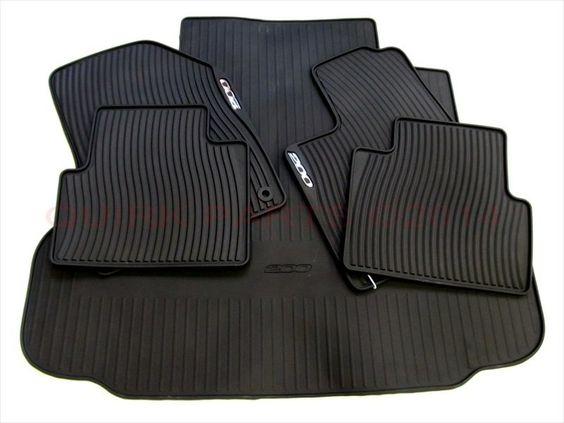 2015 chrysler 200 rubber slush floor mats rear trunk cargo liner mat set mopar mopar video. Black Bedroom Furniture Sets. Home Design Ideas