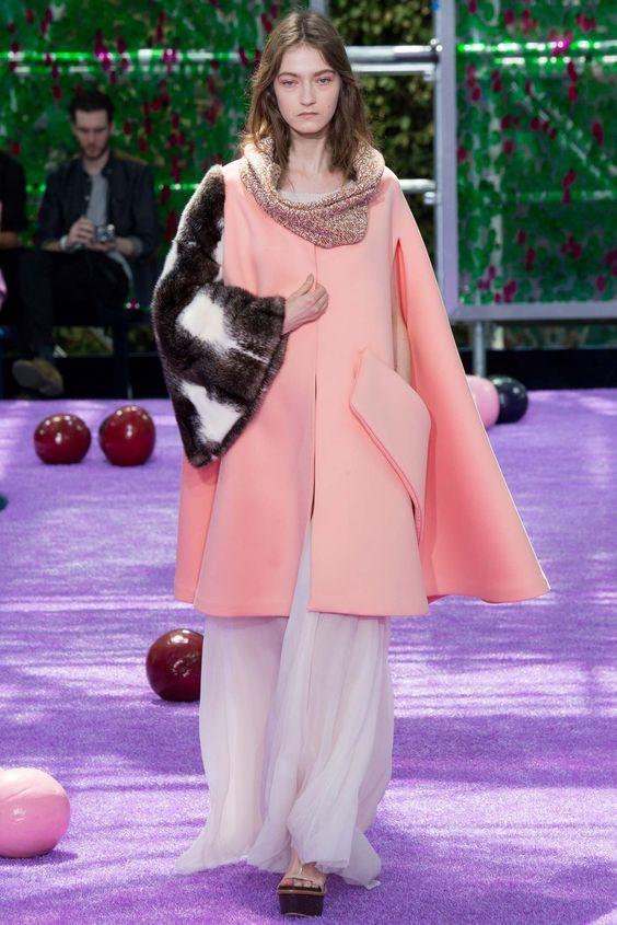 Christian Dior Fall 2015 Couture Fashion Show - Kasia Jujeczka (IMG)