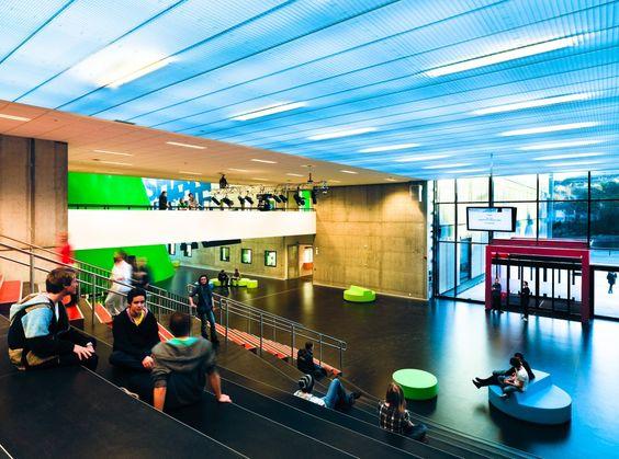 Arkitektur arkitektur school : Gallery of Nordahl Grieg High School / LINK arkitektur - 9 | High ...