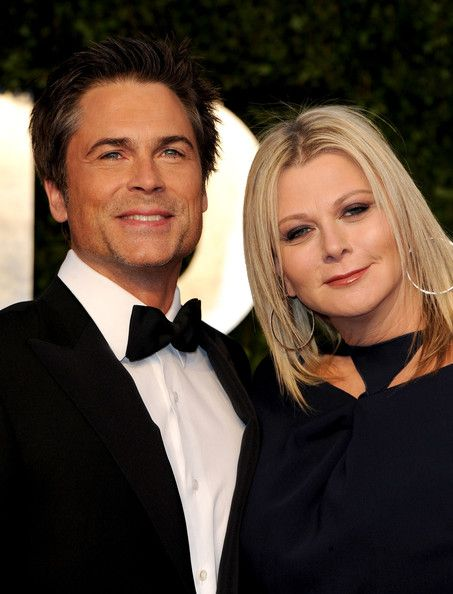 rob lowe and wife celeb couples who stay together. Black Bedroom Furniture Sets. Home Design Ideas