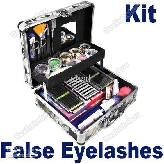 how to clean false eye
