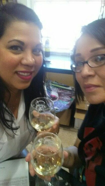 3$ flights...yum!!! @ The Winery in historical Gruene, Tx with my sister
