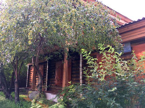 Библиотека №9 в Чите, бывший дом декабристки Нарышкиной. Фото: Evgenia Shveda