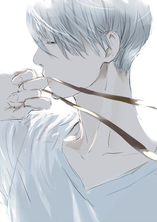 Beautiful Viktor with ribbon by のり
