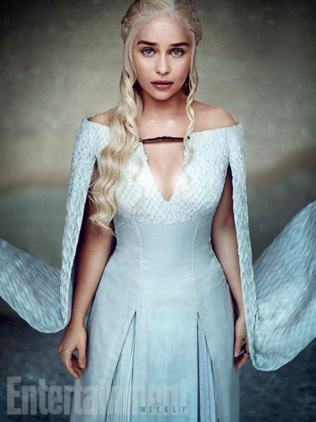 'Game of Thrones' Exclusive EW Portraits: Queens of the Throne Age | Emilia Clarke as Daenerys Targaryen | EW.com