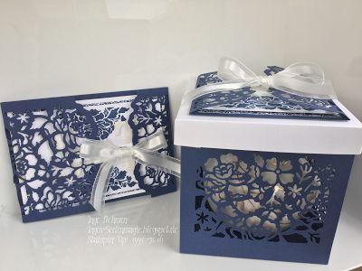 Seelenmagie / unabhängige Stampin´Up! Demo: Stampin´Up! - Hochzeitskarte mit dem Set florale Grüße und Florale Fantasie