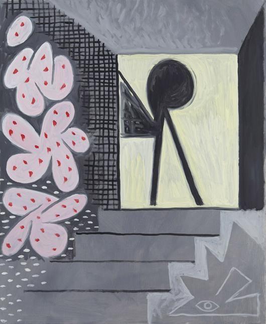 Luis Vassallo Aposentador 2015 Óleo sobre lienzo 73 x 60 cm