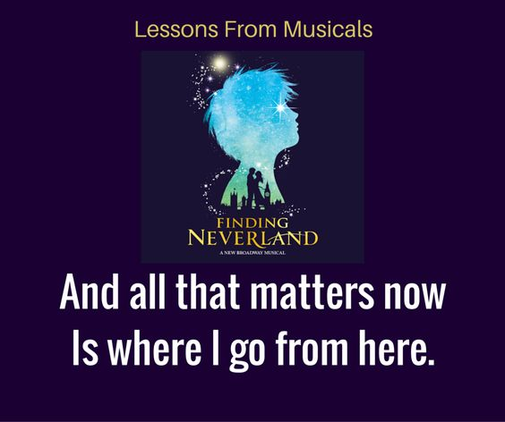 Finding neverland quotes, Theatre Nerds