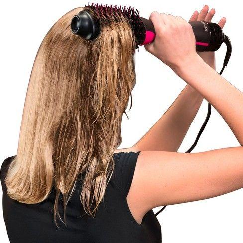 Revlon Salon One Step Hair Dryer And Volumizer Black Hair Dryer Styler Hair Dryer Styling Brush