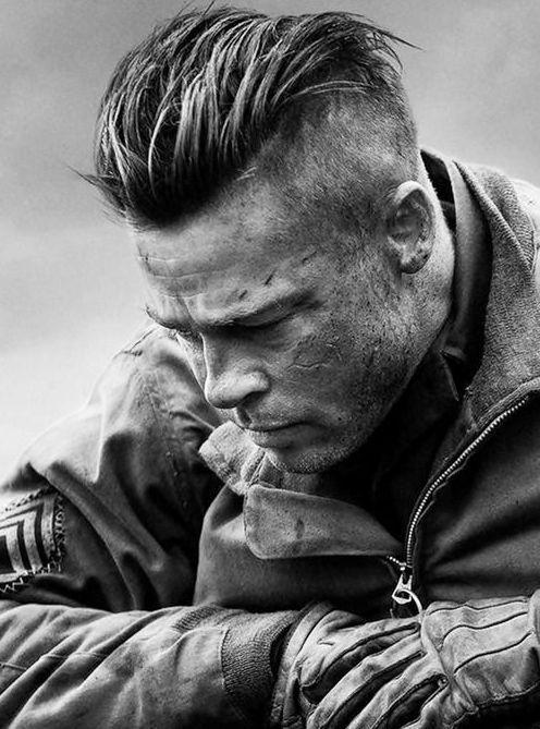 Stylish Slicked Back Hair Cut For Men